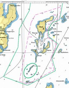 Fartbegränsning Södra Tiraöar
